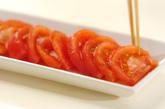 トマトとジャコのサラダの作り方1