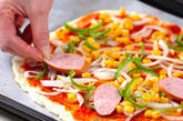 手作りピザの作り方11