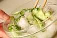 キュウリと甘酢ショウガの作り方1