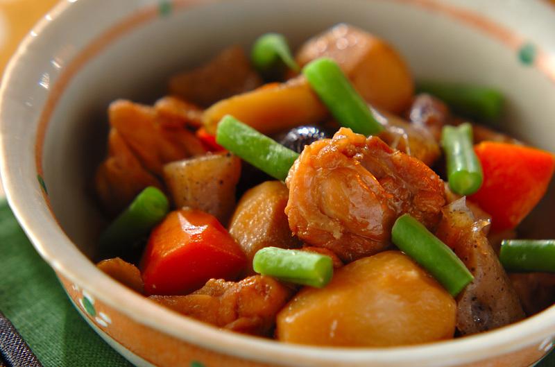 1.野菜たっぷり筑前煮