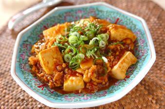 カレー風味大人の辛口麻婆豆腐