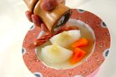 新玉ネギのコンソメ蒸しの作り方2
