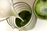 抹茶ラテの作り方4