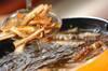 カリカリゴボウチップの作り方の手順3