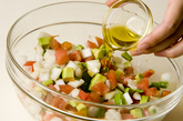 シンプルアボカドサラダの作り方2