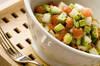 シンプルアボカドサラダの作り方の手順