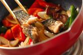 揚げサバの甘酢炒めの作り方9