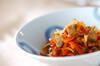 身シジミの煮物の作り方の手順