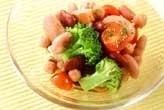 トマトと豆のサラダ