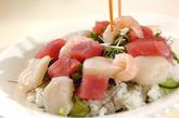 海鮮ちらし寿司の作り方2