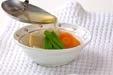 高野豆腐の炊き合わせの作り方2