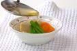 高野豆腐の炊き合わせの作り方の手順6