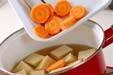 高野豆腐の炊き合わせの作り方の手順5