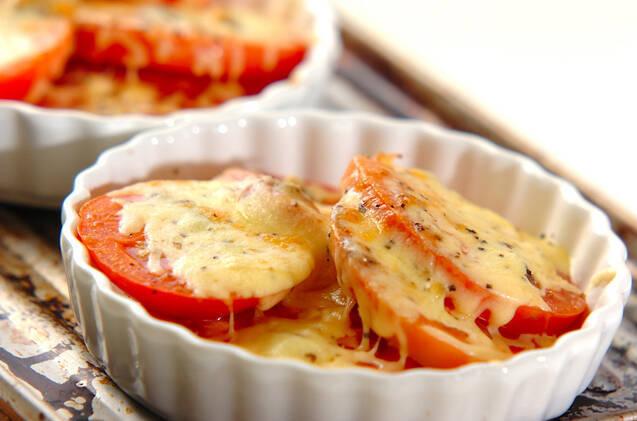 トマトのアンチョビチーズ焼きの作り方の手順3