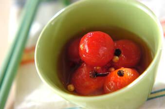 プチトマトのピクルス