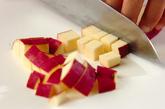 サツマイモご飯の下準備2