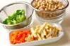 芽ヒジキの五目煮の作り方の手順2