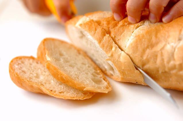 ウズラマヨ玉トーストの作り方の手順1