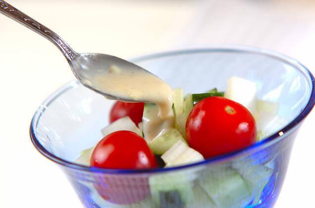キュウリのコロコロサラダの作り方の手順5