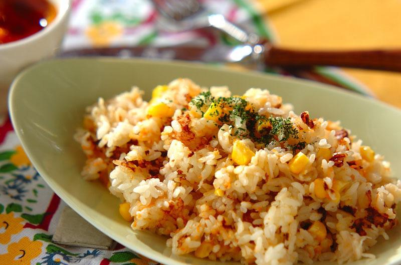 3. トウモロコシの炊き込みご飯