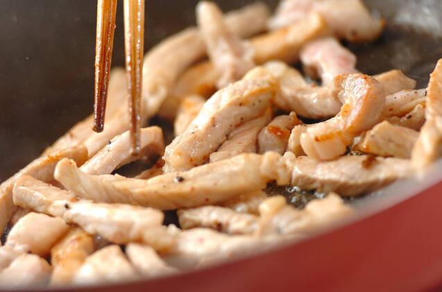 豚肉のハニーショウガ炒めの作り方の手順7