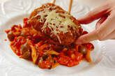 メンチカツトマトソースの作り方3