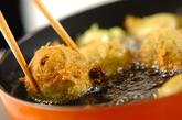 抹茶と甘納豆のプチドーナツの作り方2