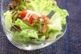 トマトと玉ネギのサラダ