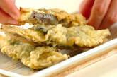 ナスと大葉の天ぷらの作り方2