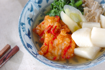 長芋のサッと煮