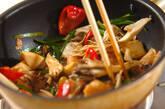 マイタケとニラの中華炒めの作り方8