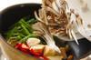 シーフードとマイタケの彩り中華炒めの作り方の手順7