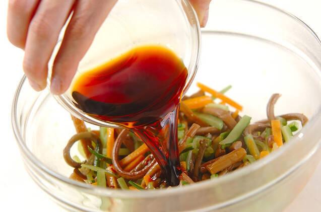 ゼンマイのピリ辛炒めの作り方の手順5