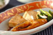 カレイと豆腐の煮物