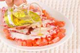 タコと野菜のサラダの作り方1