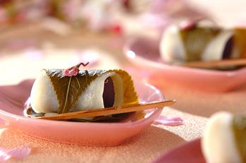 関東風の桜餅