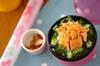 しそヒジキ鮭丼 とろろ添え弁当