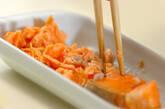 しそヒジキ鮭丼 とろろ添え弁当の作り方4