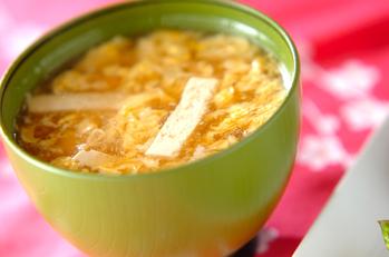 豆腐のかき卵汁