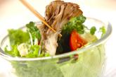マイタケのサラダの作り方2