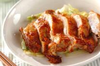 鶏肉のケチャップ煮