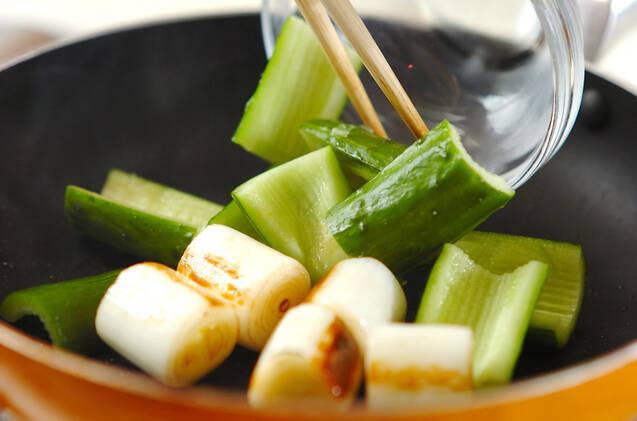キュウリの甜麺醤和えの作り方の手順4