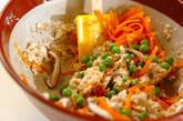 レンジ調理で!木綿豆腐の簡単白和えの作り方2