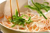 冷凍イカのゴマ炒めの作り方5