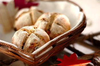 甘栗とクルミのパン