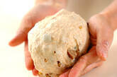甘栗とクルミのパンの作り方9