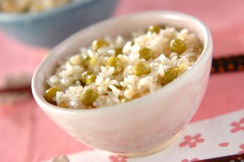 フレッシュ豆ご飯