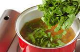 ホウレン草スープの作り方5