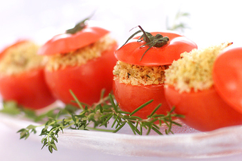 トマトのグラタン