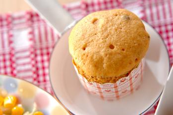 レンジできな粉蒸しパン